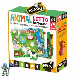 ANIMAL LOTO MONTESSORI | HEADU