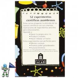 BARAJA 52 EXPERIMENTOS CIENTÍFICOS