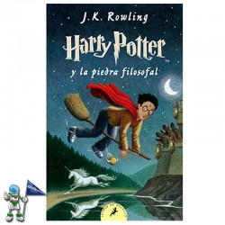 HARRY POTTER Y LA PIEDRA FILOSOFAL , HARRY POTTER 1 , EDICIÓN DE BOLSILLO