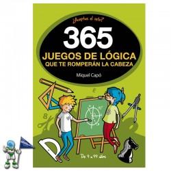 365 JUEGOS DE LÓGICA QUE TE...