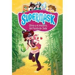 OLIVIA Y EL MISTERIO DEL PANDA DE JADE , SUPERMASK 2