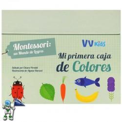 MI PRIMERA CAJA DE COLORES , MONTESSORI