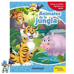 ANIMALES DE LA JUNGLA , LIBROAVENTURAS