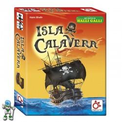 JUEGO DE CARTAS ISLA CALAVERA