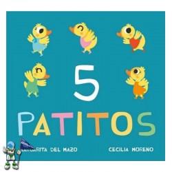 5 PATITOS , MIAU DE CARTÓN...