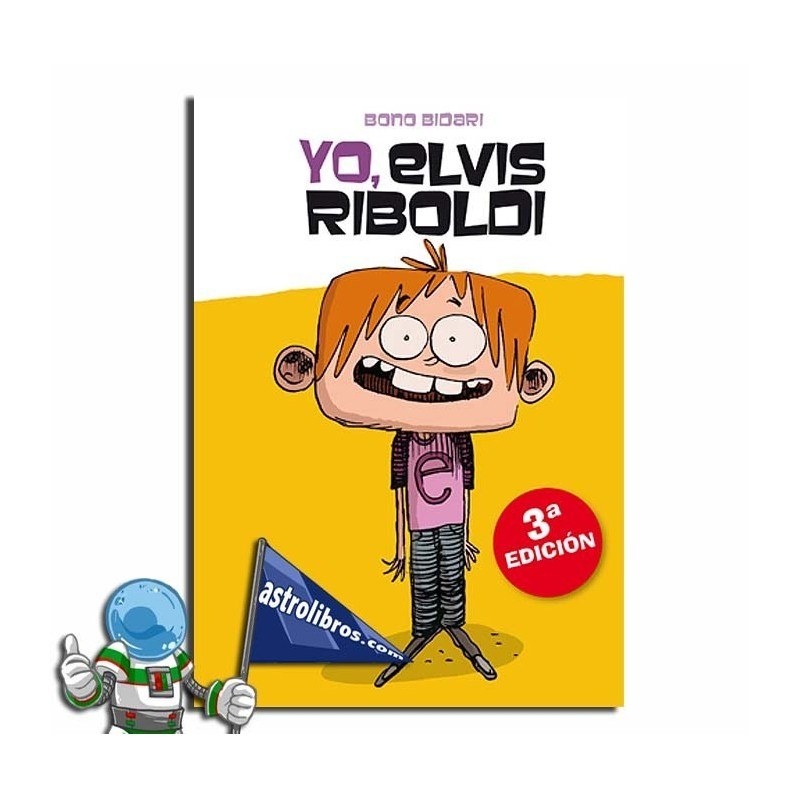 Yo Elvis Riboldi 1, GAZTE LIBURU
