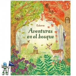 AVENTURAS EN EL BOSQUE , LIBROS INFANTILES USBORNE