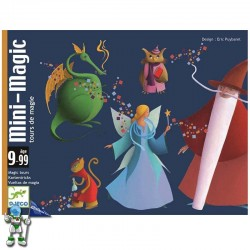 MINI-MAGIC , JUEGO DE CARTAS DJECO