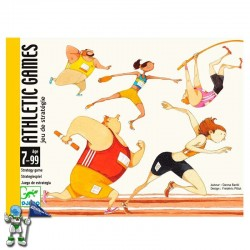 ATHLETIC GAMES , JUEGO DE CARTAS DJECO