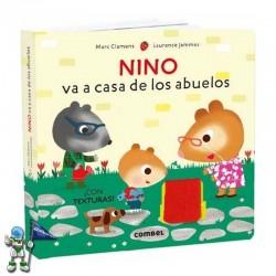 NINO VA A CASA DE LOS ABUELOS , LIBRO CON TEXTURAS
