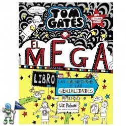 TOM GATES 16 , EL MEGALIBRO DE LAS MANUALIDADES Y LAS GENIALIDADES