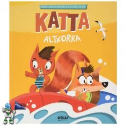 KATTA ALTXORRA , KATTA 2 , CUENTO EN MAYÚSCULA EN EUSKERA