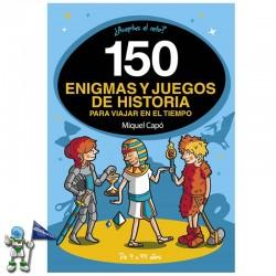 150 ENIGMAS Y JUEGOS DE...