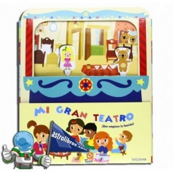 MI GRAN TEATRO | LIBRO INFANTIL | GUIÑOL