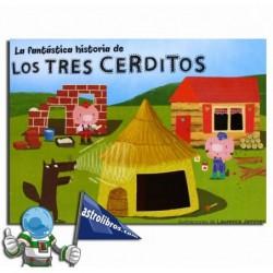 LA FANTÁSTICA HISTORIA DE LOS TRES CERDITOS | LIBRO-JUEGO