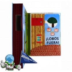 LA FANTÁSTICA HISTORIA DE LOS TRES CERDITOS , LIBRO-JUEGO