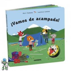 ¡VAMOS DE ACAMPADA! , LIBRO CON SOLAPAS