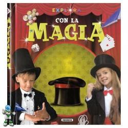 EXPLORA CON LA MAGIA , LIBRO DE MAGIA PARA NIÑOS Y NIÑAS