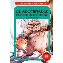 ELIGE TU PROPIA AVENTURA 3 , EL ABOMINABLE HOMBRE DE LAS NIEVES