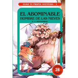 ELIGE TU PROPIA AVENTURA 3 | EL ABOMINABLE HOMBRE DE LAS NIEVES