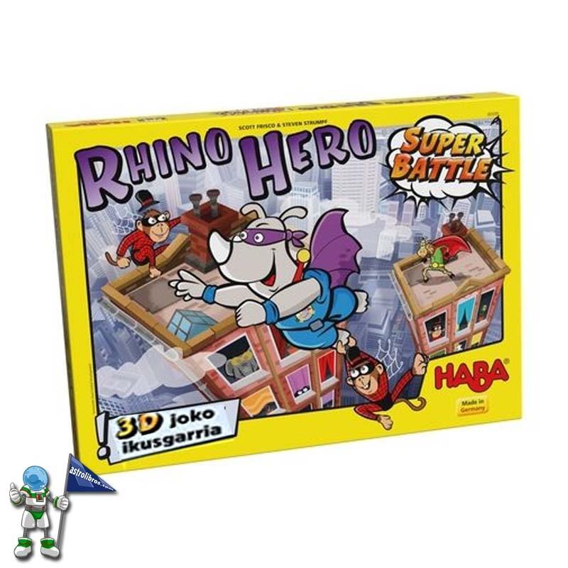 RHINO HERO SUPER BATTLE (EUSKARAZ ERE)
