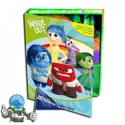 INSIDE OUT | MI LIBRO-JUEGO | LIBRO DISNEY