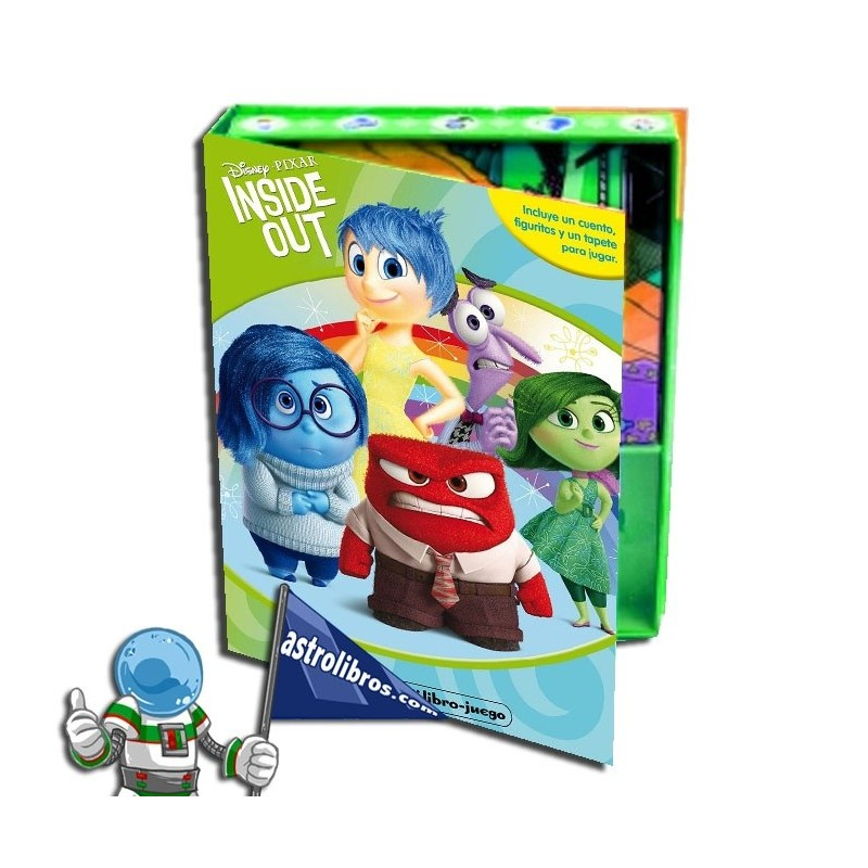 Inside Out. Mi libro-juego. Libro disney