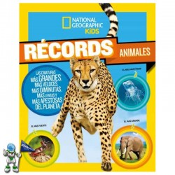 RÉCORDS ANIMALES , NATIONAL GEOGRAPHIC KIDS