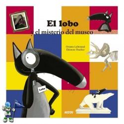 EL LOBO Y EL MISTERIO DEL MUSEO, LOBO LUPO