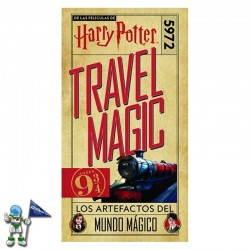 HARRY POTTER TRAVEL MAGIC, LOS ARTEFACTOS DEL MUNDO MÁGICO