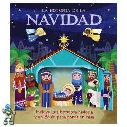 HISTORIA DE LA NAVIDAD, CON BELÉN PARA MONTAR