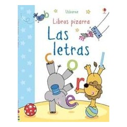 LAS LETRAS , LIBRO PIZARRA