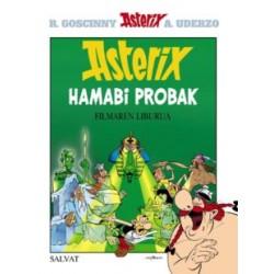 ASTERIX HAMABI PROBAK, ASTERIX EN EUSKERA