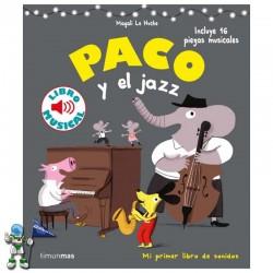 PACO Y EL JAZZ , LIBRO MUSICAL