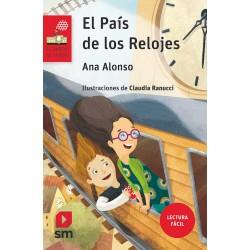 EL PAÍS DE LOS RELOJES , LECTURA FÁCIL , BARCO DE VAPOR SERIE ROJA