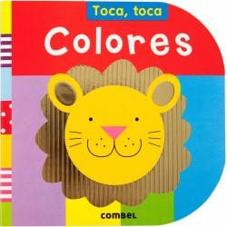 COLORES , TOCA TOCA , LIBRO INFANTIL CON TEXTURAS