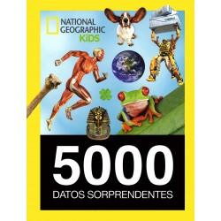5.000 DATOS SORPRENDENTES , NATIONAL GEOGRAPHIC KIDS