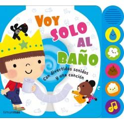 VOY SOLO AL BAÑO , CUENTO CON SONIDOS