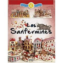 LOS SANFERMINES , MAQUETAS RECORTABLES