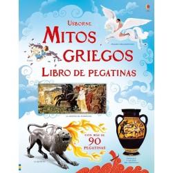 MITOS GRIEGOS , LIBRO DE PEGATINAS