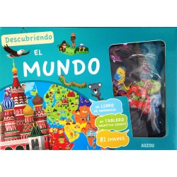 DESCUBRIENDO EL MUNDO , ATLAS MAGNÉTICO