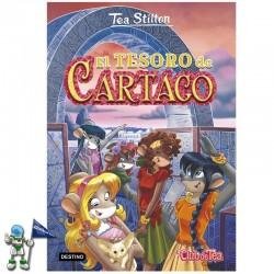 EL TESORO DE CARTAGO, TEA STILTON 39