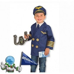 Disfraz de piloto de aviónes para niños