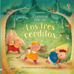 LOS TRES CERDITOS, CUENTOS POP-UP USBORNE