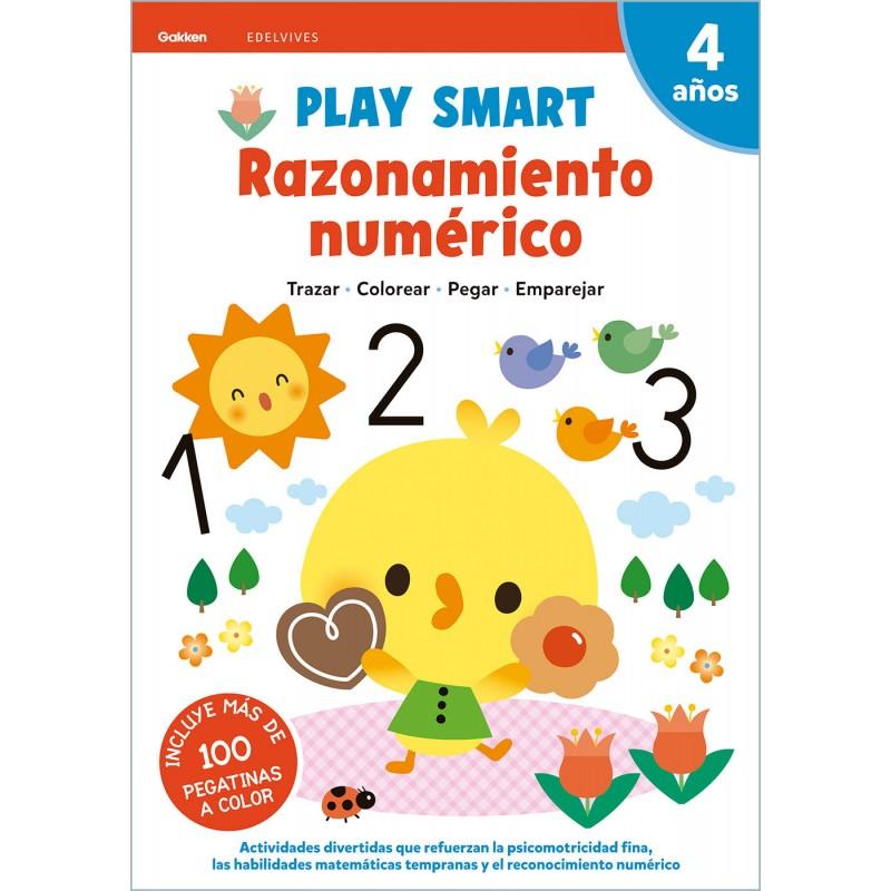 PLAY SMART 4 AÑOS, RAZONAMIENTO NUMERICO