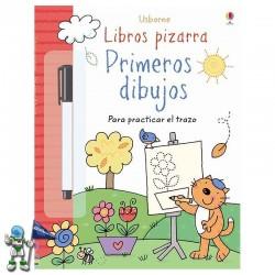 PRIMEROS DIBUJOS, LIBROS PIZARRA USBORNE