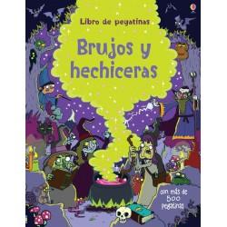 BRUJAS Y HECHICERAS, LIBRO DE PEGATINAS USBORNE