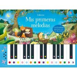 MIS PRIMERAS MELODÍAS, LIBRO PIANO USBORNE