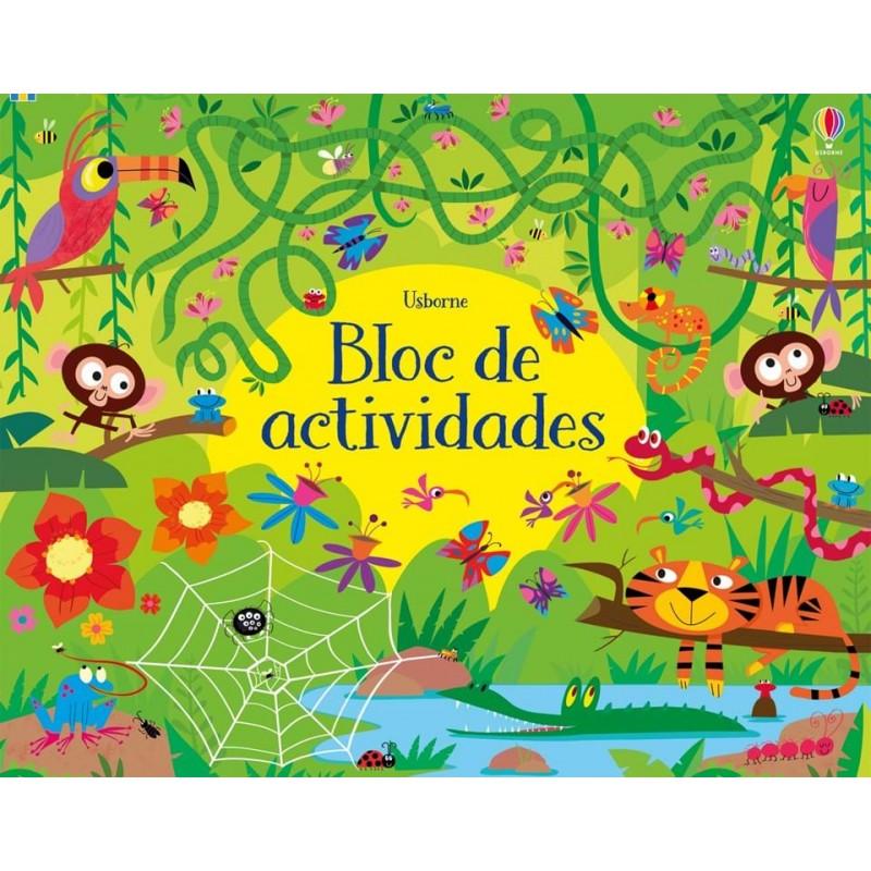 BLOC DE ACTIVIDADES , PASATIEMPOS INFANTILES