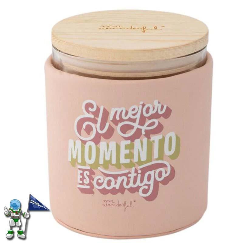 VELA MR WONDERFUL EL MEJOR MOMENTO ES CONTIGO